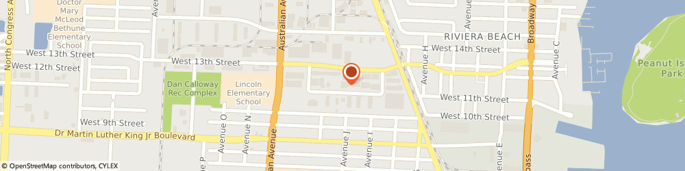 Route/map/directions to JOHN C CASSIDY AC INC, 33404 Riviera Beach, 846 W 13Th Ct