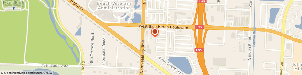 Route/map/directions to PPG Porter Paints, 33404 West Palm Beach, 7170 Devons Road