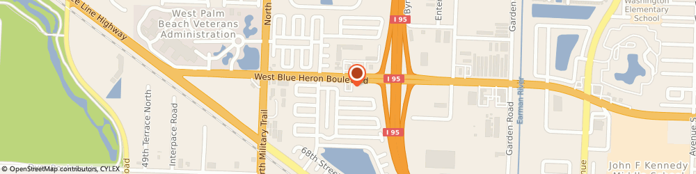 Route/map/directions to Burger King, 33404 Riviera Beach, 4138 Blue Heron Blvd