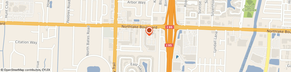 Route/map/directions to Subway, 33410 Palm Beach Gardens, 4238 Northlake Boulevard
