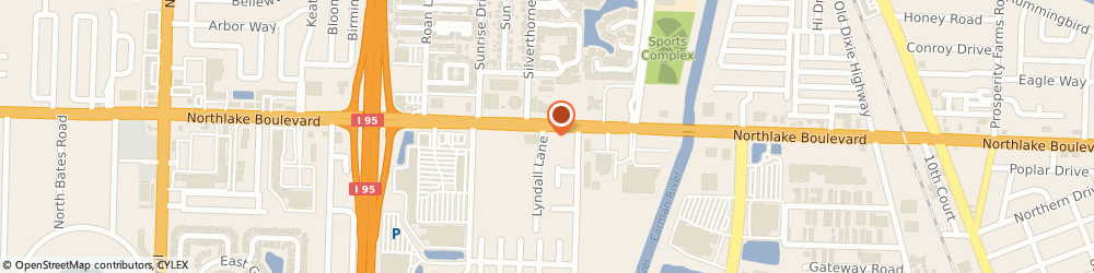 Route/map/directions to Checkers, 33403 Palm Beach Gardens, 3568 Northlake Blvd.