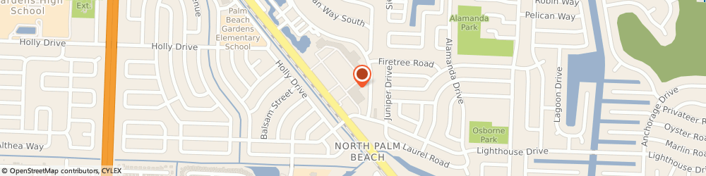 Route/map/directions to Subway, 33410 Palm Beach Gardens, 9810 Alternate A-1A