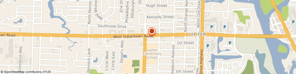 Route/map/directions to Burger King, 33458 Jupiter, 454 Indiantown Rd