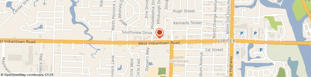 Route/map/directions to Abbey Carpet Center Of Jupiter, 33458 Jupiter, 615 WEST INDIANTOWN ROAD