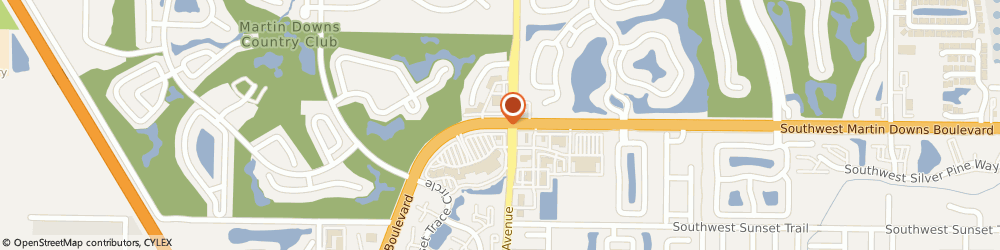 Route/map/directions to Bank of America, 34994 Palm City, 2750 SW MARTIN DOWNS BLVD
