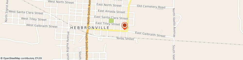 Route/map/directions to County Pharmacy, 78361 Hebbronville, 602 East Galbraith