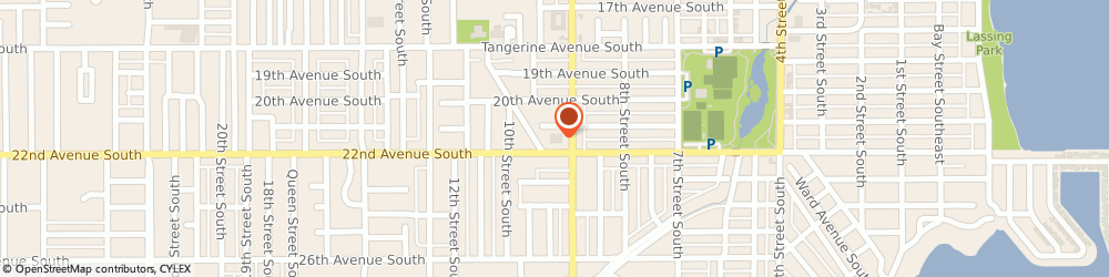 Route/map/directions to Walgreens, 33705 Saint Petersburg, 901 22ND AVENUE SOUTH