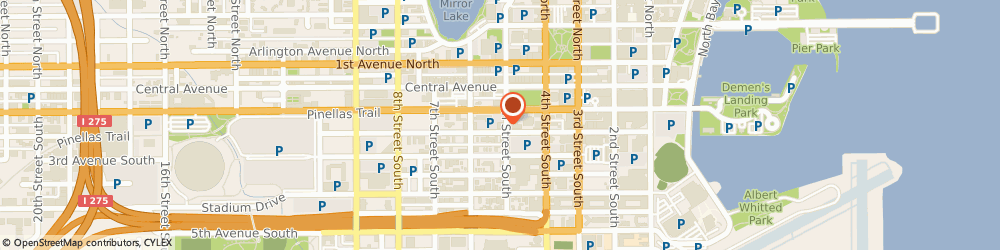 Route/map/directions to Wells Fargo ATM, 33701 St Petersburg, 125 5th St S