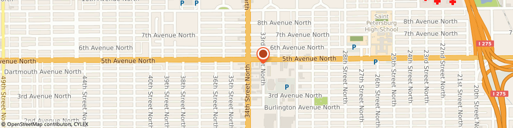 Route/map/directions to 7-Eleven, 33713 Saint Petersburg, 475 34th St N