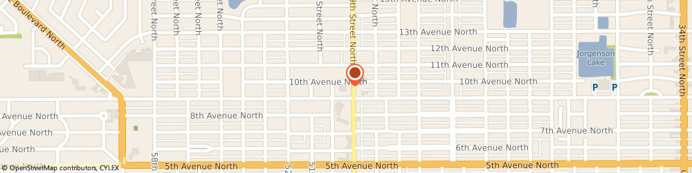 Route/map/directions to Walgreens, 33710 St Petersburg, 900 49th St N