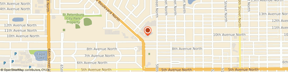 Route/map/directions to Tyrone Barber Shop, 33710 Saint Petersburg, 921 TYRONE BLVD N
