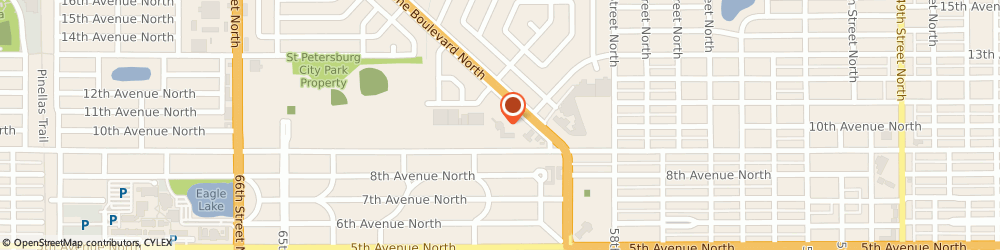 Route/map/directions to Wells Fargo Bank, 33710 Saint Petersburg, 1000 Tyrone Blvd N