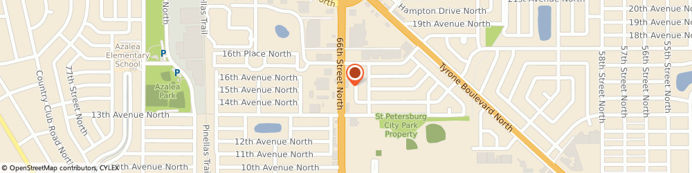 Route/map/directions to Wells Fargo ATM, 33710 Saint Petersburg, 1501 66th St N
