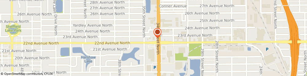 Route/map/directions to Cvs Pharmacy, 33701 Saint Petersburg, 2200 34TH STREET