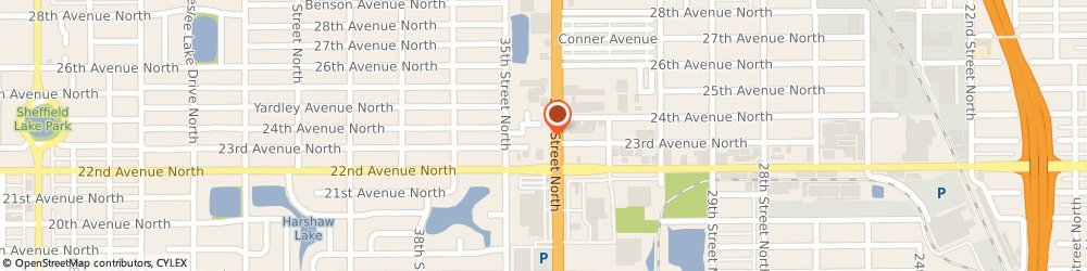 Route/map/directions to Wells Fargo Bank, 33713 Saint Petersburg, 2350 34th St N
