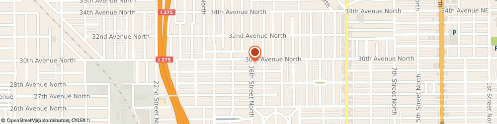 Route/map/directions to 7-Eleven, 33704 Saint Petersburg, 2990 16th Street North