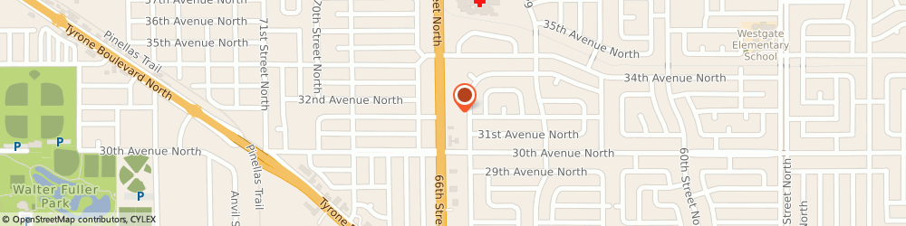 Route/map/directions to Wells Fargo Bank, 33710 Saint Petersburg, 3131 66th St N