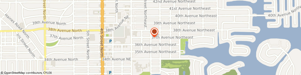 Route/map/directions to Cvs Pharmacy, 33704 Saint Petersburg, 294 37TH AVE N
