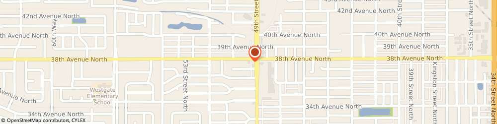 Route/map/directions to H&R Block, 33710 Saint Petersburg, 4922-a 38th Ave N