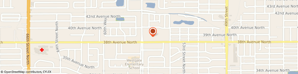 Route/map/directions to Walgreens, 33710 St Petersburg, 5767 38th Ave N