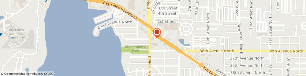 Route/map/directions to Navy Federal Credit Union ATM, 33709 Saint Petersburg, 3994 Tyrone Blvd N