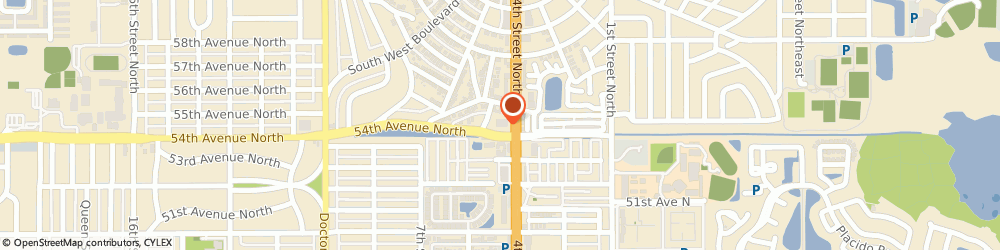 Route/map/directions to Cvs Pharmacy, 33703 Saint Petersburg, 5400 4TH STREET NORTH