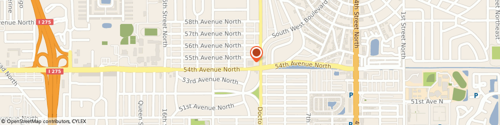 Route/map/directions to Walgreens, 33703 St Petersburg, 5420 Dr Martin Luther King Jr St N