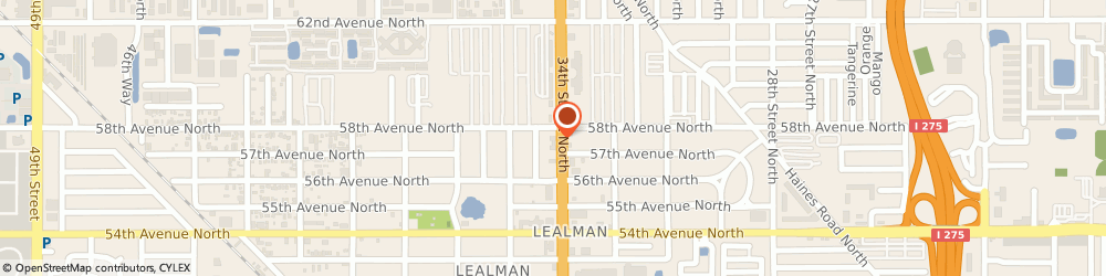 Route/map/directions to 7-Eleven, 33714 Saint Petersburg, 5790 34th St N