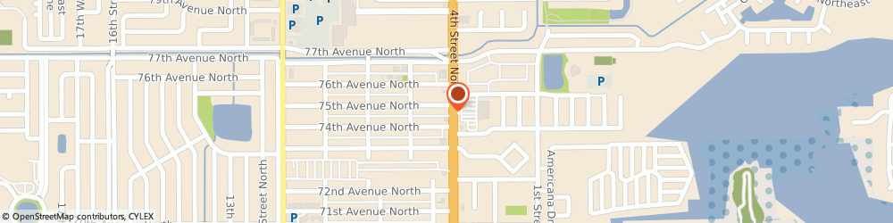Route/map/directions to Bp Station, 33702 Saint Petersburg, 7424 4TH ST N