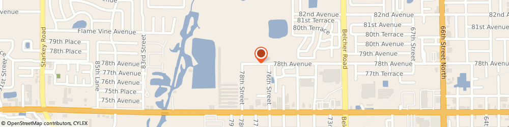 Route/map/directions to Navy Federal Credit Union ATM, 33772 Seminole, 13705 78Th Ave N