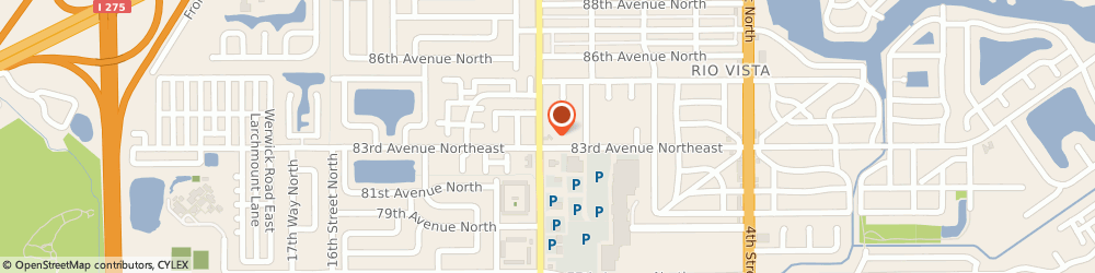 Route/map/directions to 7-Eleven, 33702 Saint Petersburg, 891 83rd Ave N
