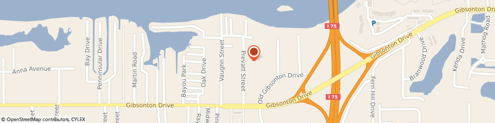 Route/map/directions to Dimples The Clown, 33534 Gibsonton, 9922 Prevatt St