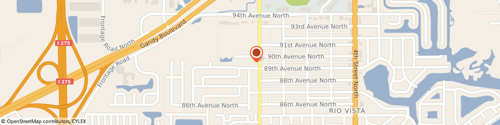 Route/map/directions to STATE FARM Bill Hon, 33702 Saint Petersburg, 8950 9Th Street N Suite 100