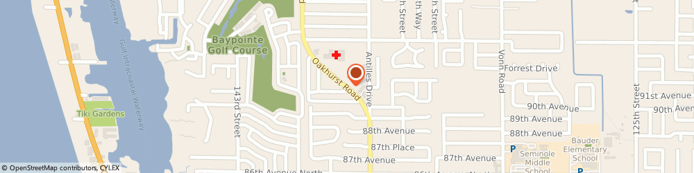 Route/map/directions to Citibank ATM, 33776 Seminole, 9201 Oakhurst Rd