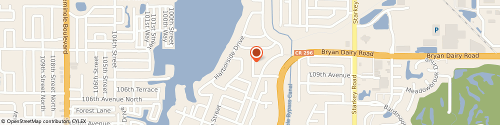 Route/map/directions to Curves For Women, 33773 Largo, 10932 96th St