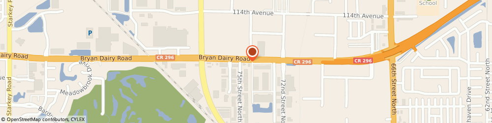 Route/map/directions to BB&T, 33777 Seminole, 7480 BRYAN DAIRY ROAD # 500