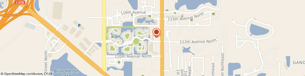 Route/map/directions to H&R Block, 33716 Saint Petersburg, 11270 Fourth St N Ste 210