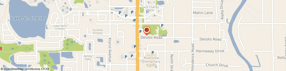 Route/map/directions to Sweeties Cat House, 33578 Riverview, 10708 Desoto Rd