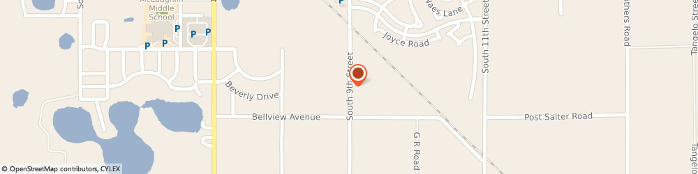 Route/map/directions to Holy Spirit Catholic Church - Religious Education Office, 33853 Lake Wales, 644 South 9th. St.