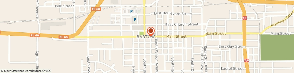 Route/map/directions to Progressive Insurance, 33830 Bartow, 125 E Main St