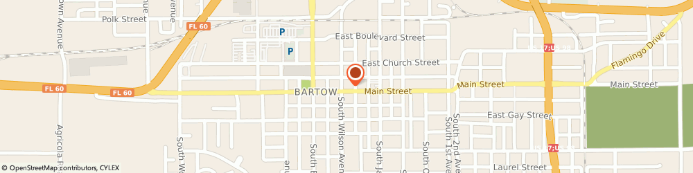 Route/map/directions to Progressive Insurance, 33830 Bartow, 322 E Main St