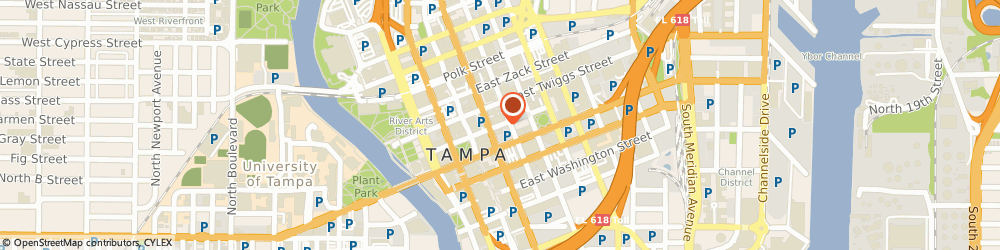 Route/map/directions to Hayman Jewelry Co, 33602 Tampa, 305 E Madison St