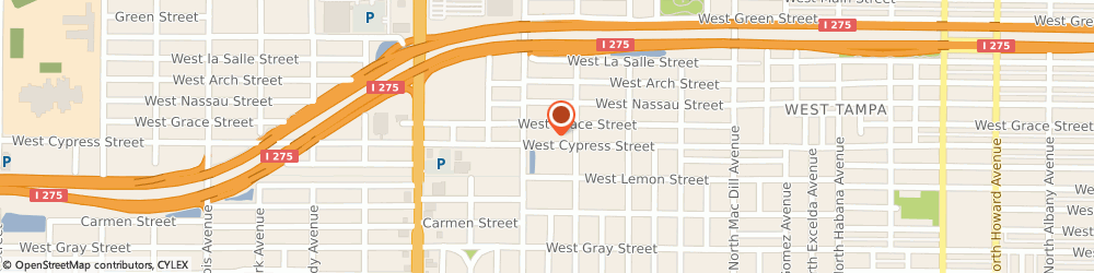 Route/map/directions to National Payment Corporation, 33607 Tampa, 3415 W Cypress St