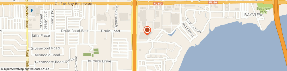 Route/map/directions to Navy Federal Credit Union ATM, 33759 Clearwater, 2655 Gulf To Bay Blvd