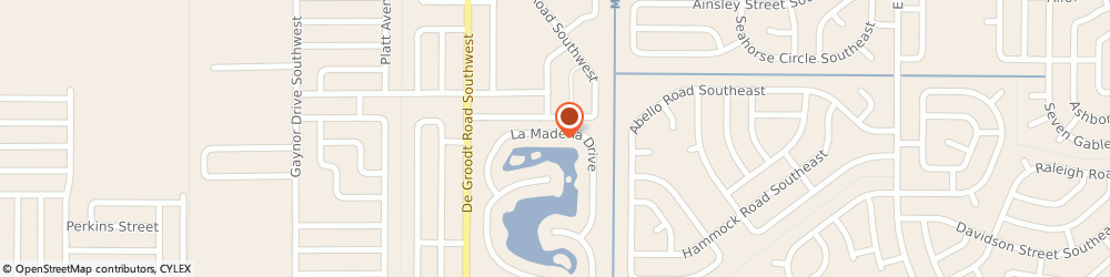Route/map/directions to Ahler Realty Co, 32908 Palm Bay, 1625 La Maderia Dr Sw