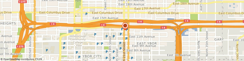Route/map/directions to Burger King, 33605 Tampa, 2302 N 21st St