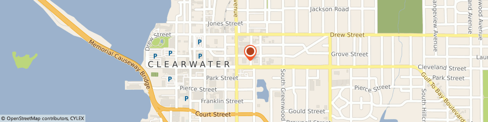 Route/map/directions to Navy Federal Credit Union ATM, 33755 Clearwater, 814 Cleveland St