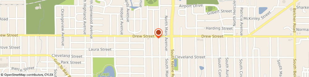 Route/map/directions to Navy Federal Credit Union ATM, 33755 Clearwater, 1725 Drew St