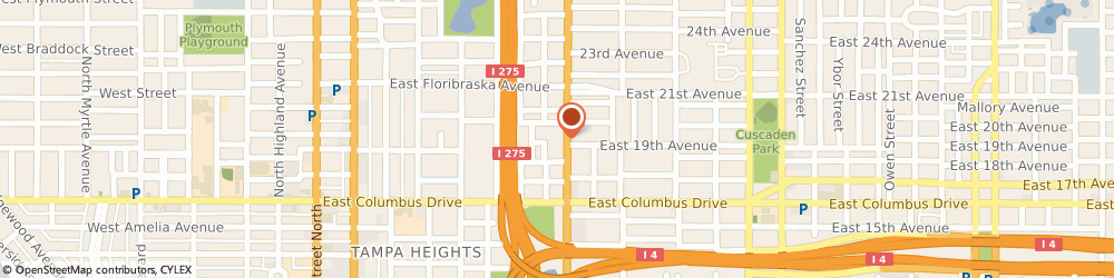 Route/map/directions to FSJ Rooming House, 33602 Tampa, 2818 North Nebraska Avenue