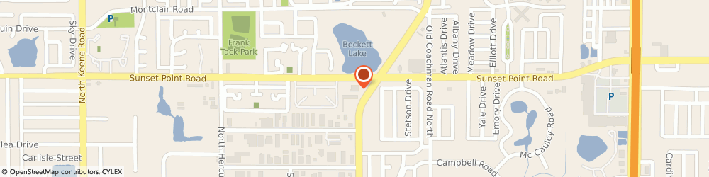 Route/map/directions to Navy Federal Credit Union ATM, 33765 Clearwater, 1880 N Belcher Rd